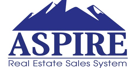 Aspire  Real Estate Sales System-  Business Planning and Goal Setting tickets