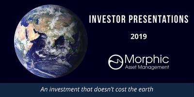 Morphic Investor Update | SYDNEY | 6 June 2019 | Responsible Investing