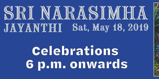 Sri Narasimha Jayanti – May 18, 2019