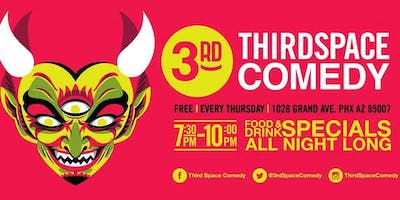 Happier Hour Comedy Show at ThirdSpace