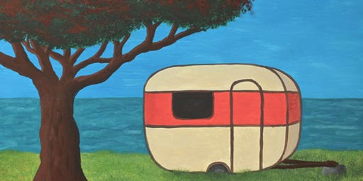 Paint your own Kiwi Summer with Heart for Art NZ - We'll show you how