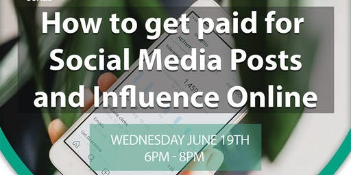 How to Get Paid for Social Media Posts and Influence Online