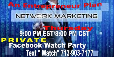 Network Income Watch Party-MD tickets