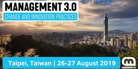 2-Day Management 3.0 Foundation Workshop Taipei, Taiwan tickets