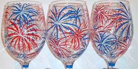 Summer Fun Wine Glass Painting Event