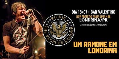 RICHIE RAMONE • Um Ramone em Londrina