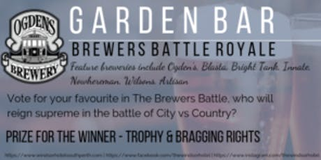 Garden Bar Brewers Battle Royale tickets