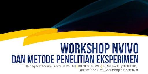 Workshop NVIVO dan Metode Penelitian Eksperimen