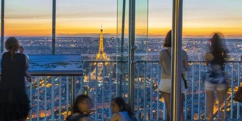Montparnasse Tower: 56th Floor Panoramic Terrace