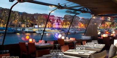 Gourmet Dinner Cruise on the Seine
