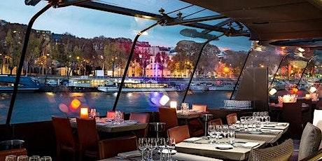 Gourmet Dinner Cruise on the Seine billets