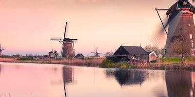 Kinderdijk: Roundtrip by Boat from Rotterdam