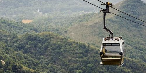 Ngong Ping Cable Car: Standard/Crystal Cabin