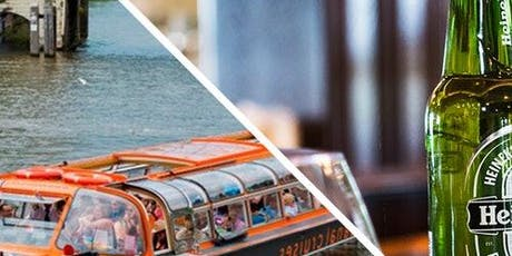 Canal Cruise & Heineken Experience tickets
