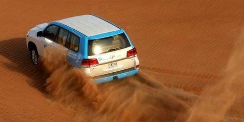 Desert Safari with BBQ, Falconry, Camel Ride and Sandboarding