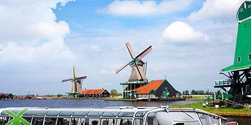 Windmill Cruise Through Zaanse Schans