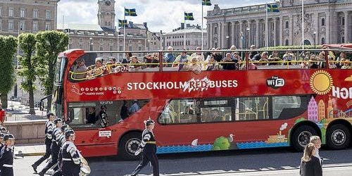 Hop-on Hop-off Bus Stockholm
