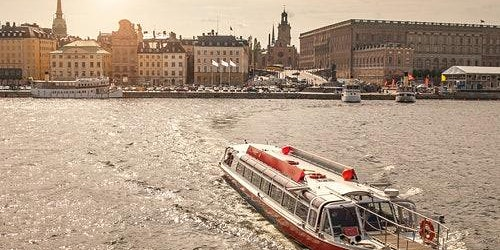 Hop-on Hop-off Boat Stockholm