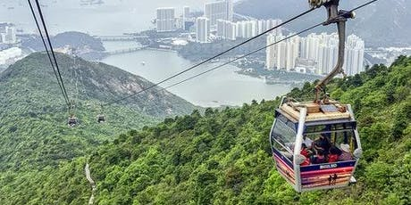 Ngong Ping Cable Car 1+1: One-Way Standard Cabin + One-Way Crystal Cabin tickets