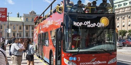 Hop-on Hop-off Bus & Boat Stockholm