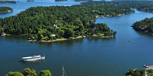 Stockholm Archipelago Boat Tour with Guide