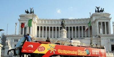 Colosseum + Hop-on Hop-off Bus