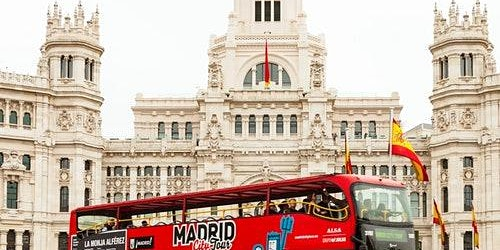 Hop-on Hop-off Bus Madrid