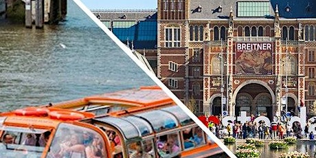 Canal Cruise & Rijksmuseum tickets