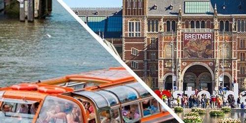 Canal Cruise & Rijksmuseum