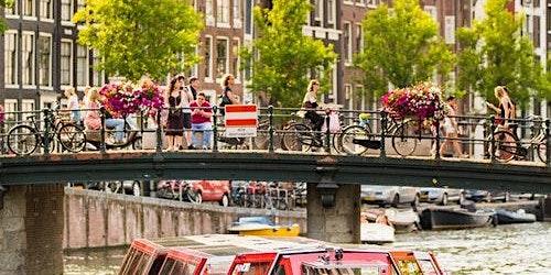 Hop-on Hop-off Boat Amsterdam