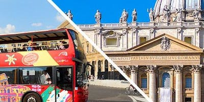 Vatican Museums & Sistine Chapel: Skip The Line + Hop-on Hop-off Bus