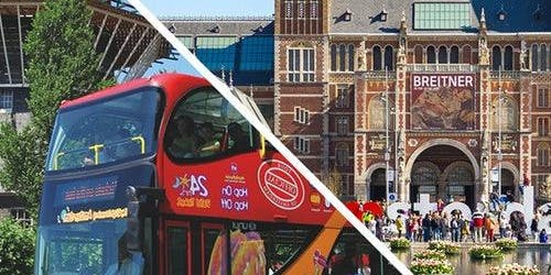 Hop-on Hop-off Bus & Rijksmuseum