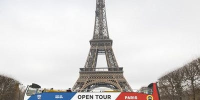 Hop-on Hop-off Open Bus Tour Paris