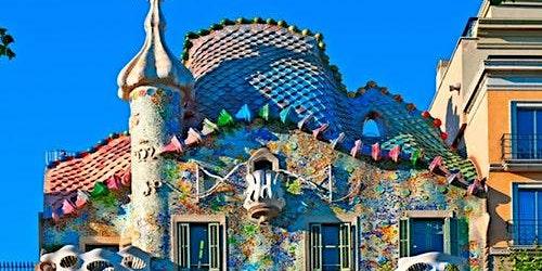 Casa Batlló: Blue
