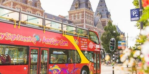 Hop-on Hop-off Bus Amsterdam