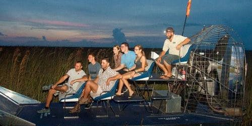 Gator Nights 60-Minute Airboat Adventure