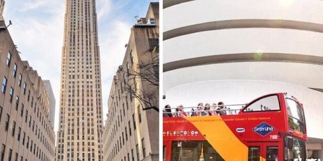 Top of the Rock, Rockefeller Center & Hop-on Hop-off Bus tickets