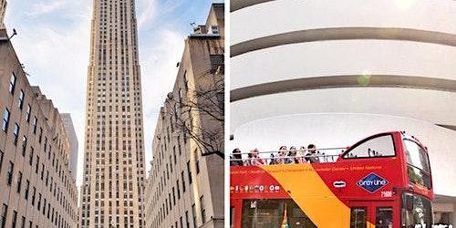 Top of the Rock, Rockefeller Center & Hop-on Hop-off Bus