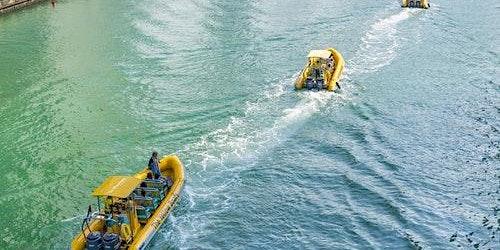 The Yellow Boats: 60-minute Marina Cruise