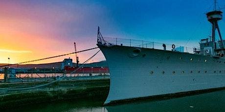 HMS Caroline + Hop-on Hop-off Bus 48H tickets