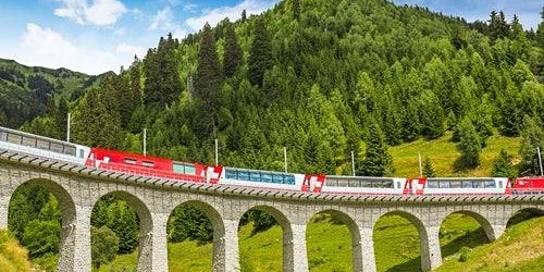 Bernina Express: Roundtrip from Milan