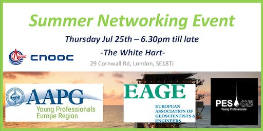 AAPGyp, PESGB & EAGE Summer Networking Event