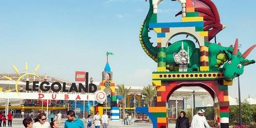 Dubai Parks 1 Day 2 Parks or 2 Days all 4 Parks