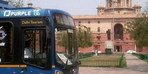 Hop-on Hop-off Bus Delhi