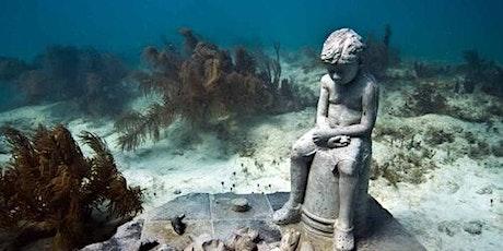 Underwater Museum Punta Nizuc: Snorkeling + Glass-Bottomed Boat boletos