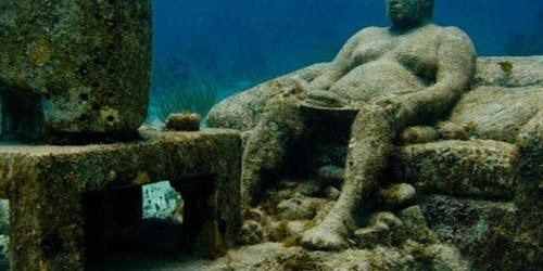 Underwater Museum Punta Nizuc: Snorkeling
