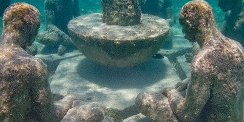 Underwater Museum Punta Nizuc: Glass-Bottomed Boat