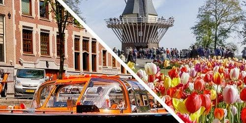 Canal Cruise & Keukenhof: Skip The Line