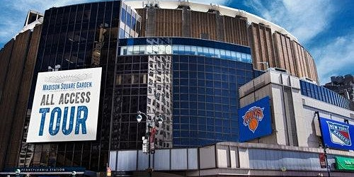 Madison Square Garden: All-Access Tour