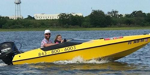 Speed Boat Adventure Charleston